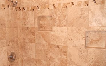 Neutral Bathroom Shower Tile